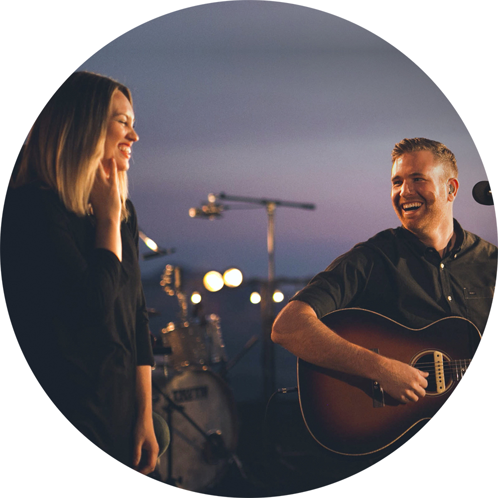 photo of Paul and Hannah McClure of Bethel Music